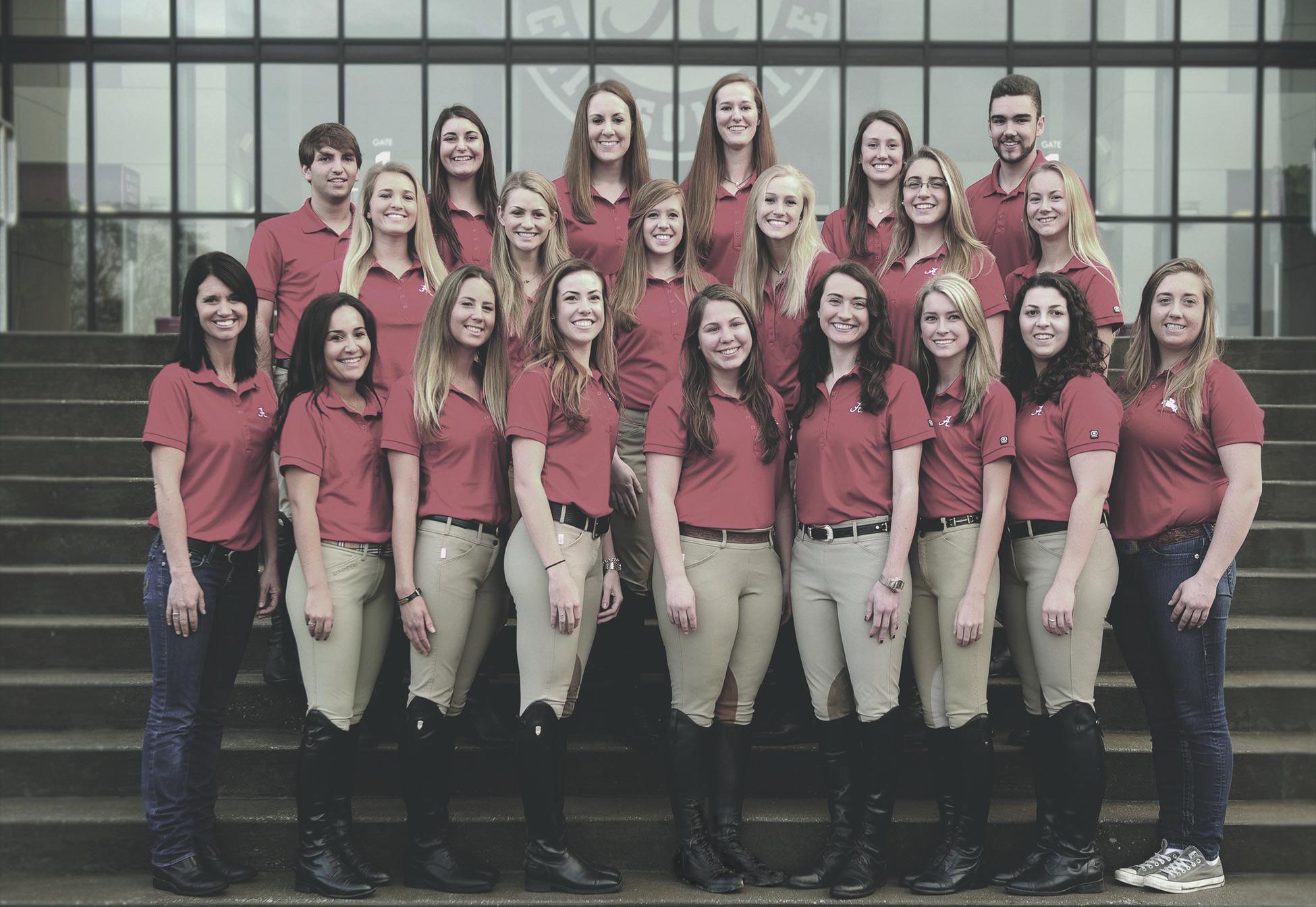 The University Of Alabama Equestrian Team The Web Initiative